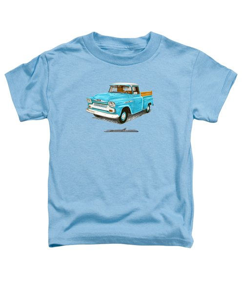 Apache Pick Up Truck Toddler T-Shirt