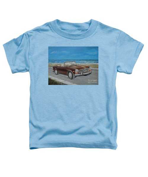 1970 Mercedes Benz 280 Sl Pagoda Toddler T-Shirt