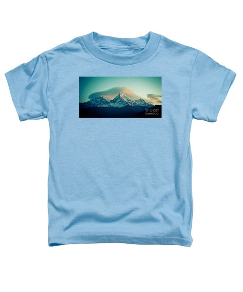 Annapurna South At Sunrise In Himalayas Artmif Photo Raimond Klavins Toddler T-Shirt