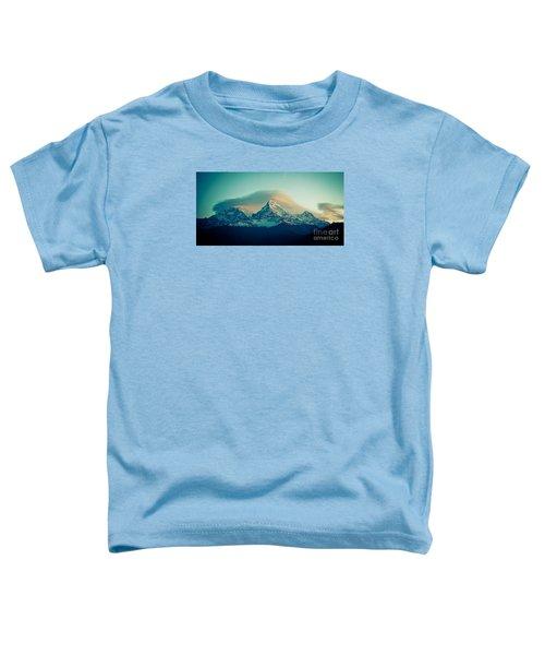 Annapurna South At Sunrise In Himalayas Artmif Photo Raimond Klavins Toddler T-Shirt