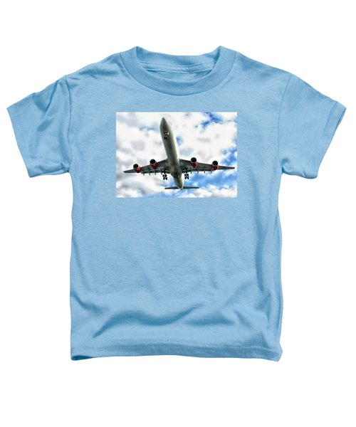 Passenger Plane Toddler T-Shirt