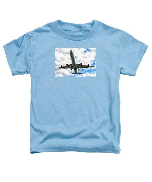 Passenger Plane Toddler T-Shirt