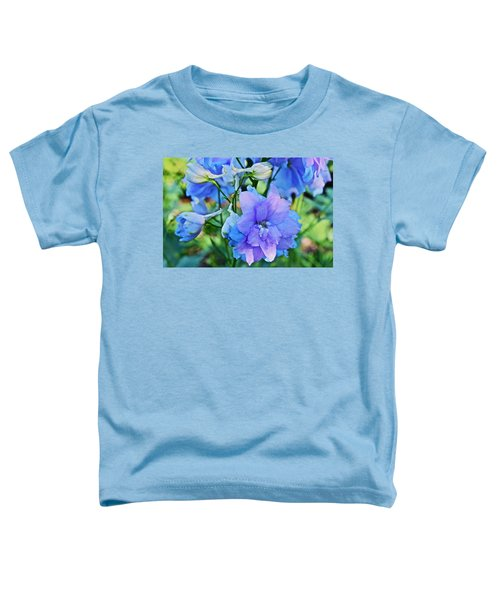 2015 Mid September At The Garden Larkspur 2 Toddler T-Shirt