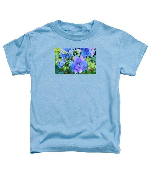 2015 Mid September At The Garden Larkspur 2 Toddler T-Shirt