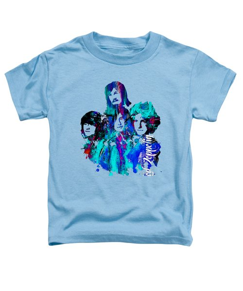 Led Zeppelin Collection Toddler T-Shirt by Marvin Blaine