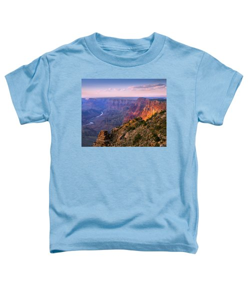 Canyon Glow Toddler T-Shirt by Mikes Nature