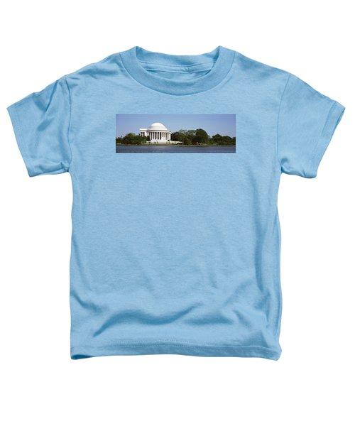 Jefferson Memorial, Washington Dc Toddler T-Shirt by Panoramic Images