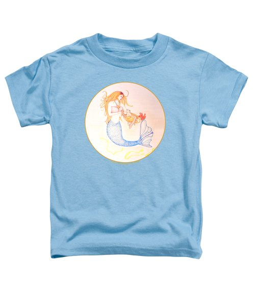 Mermaid Toddler T-Shirt by M Gilroy