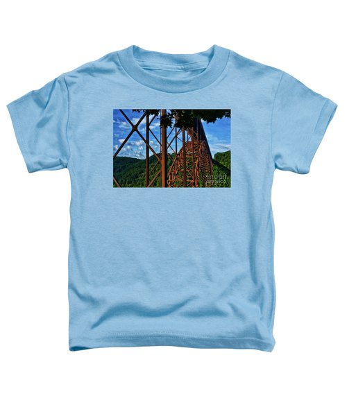 New River Gorge Bridge Toddler T-Shirt