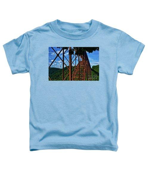 New River Gorge Bridge Toddler T-Shirt