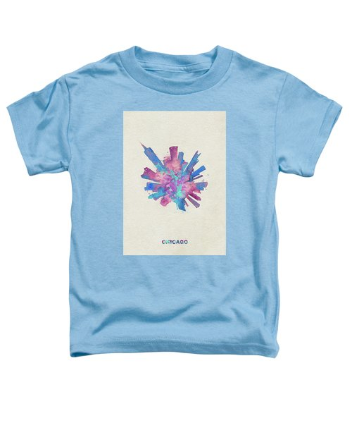 Skyround Art Of Chicago, United States Toddler T-Shirt