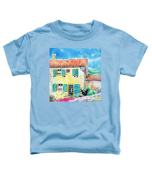View Of Luberon Toddler T-Shirt