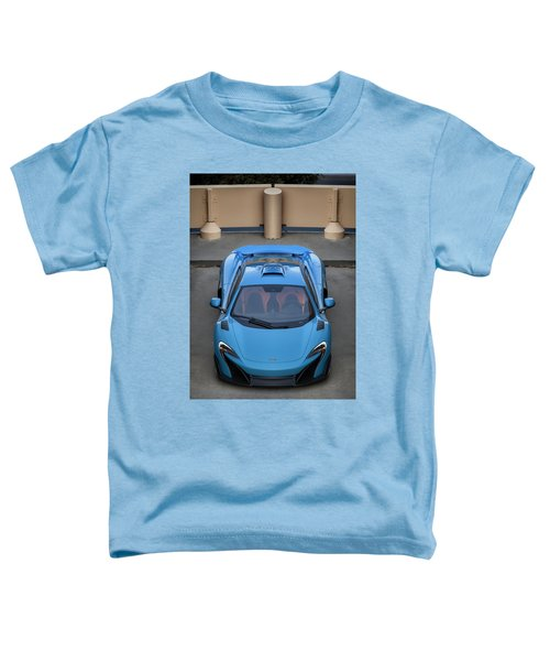 #mclaren #675lt #print Toddler T-Shirt