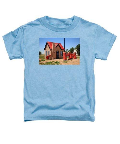 Route 66 - Phillips 66 Gas Station Toddler T-Shirt