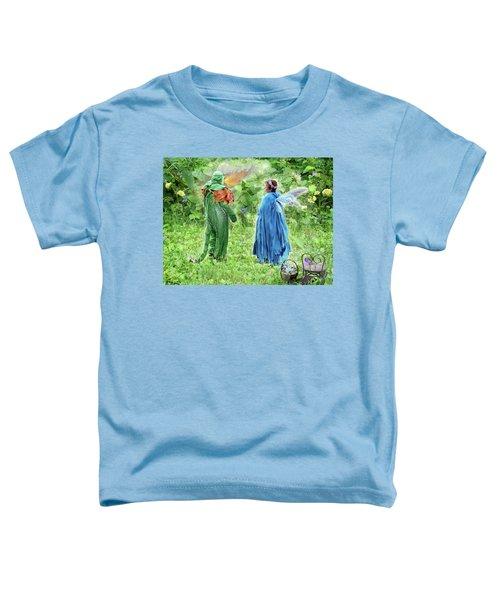 A Dragon Confides In A Fairy Toddler T-Shirt