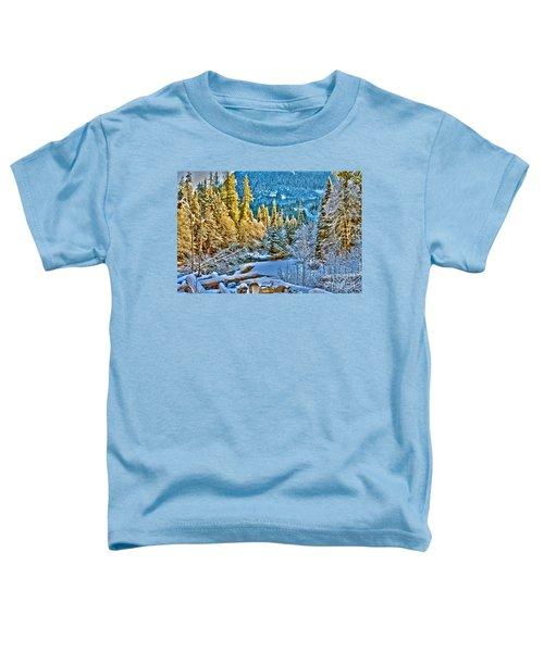 A River Runs Down It Toddler T-Shirt