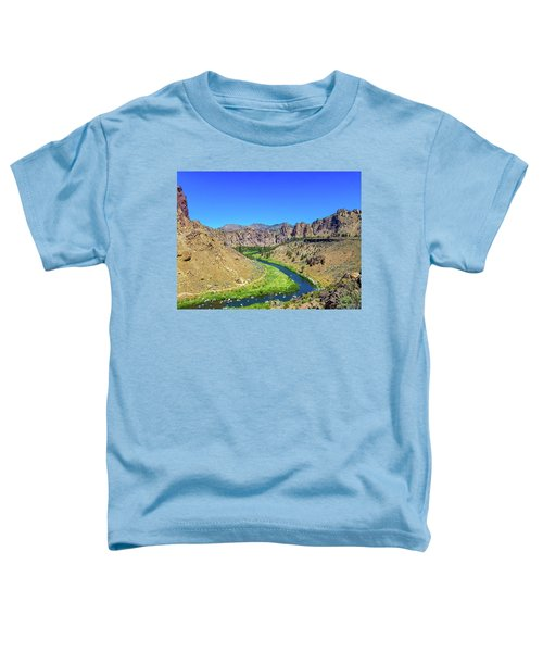 A River Runs Through Toddler T-Shirt