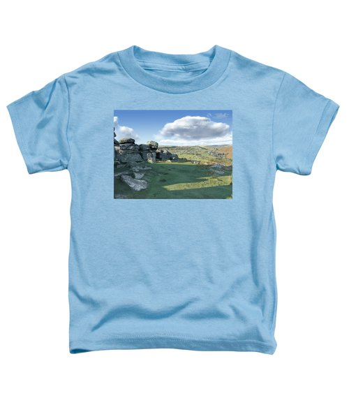 A View From Combestone Tor Toddler T-Shirt