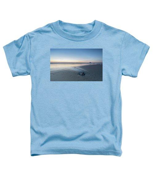 A Wonderfull Sunset.. And A Rock Toddler T-Shirt