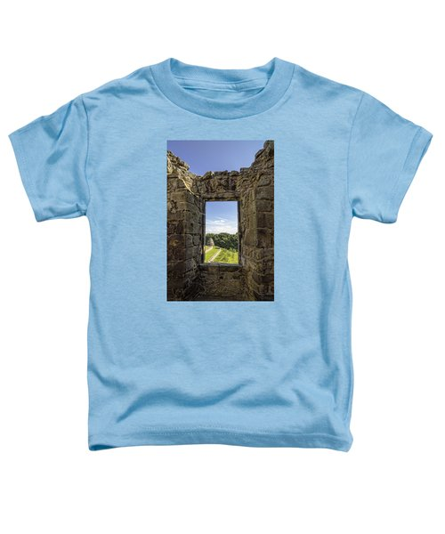 Toddler T-Shirt featuring the photograph Aberdour Castle by Jeremy Lavender Photography