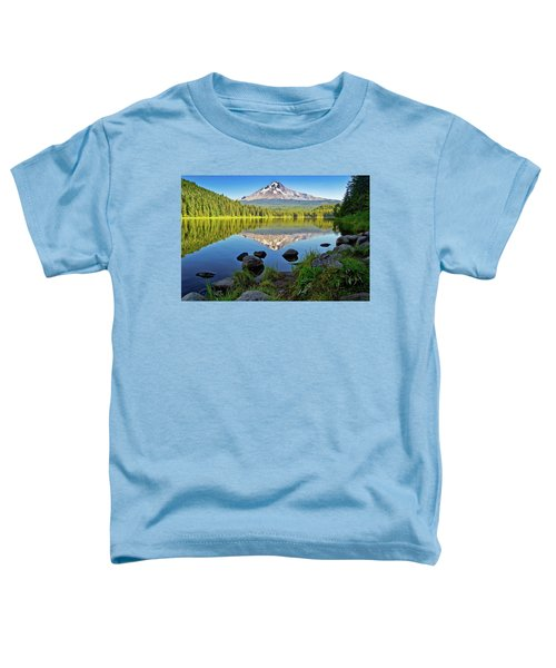 Above The Lake Toddler T-Shirt