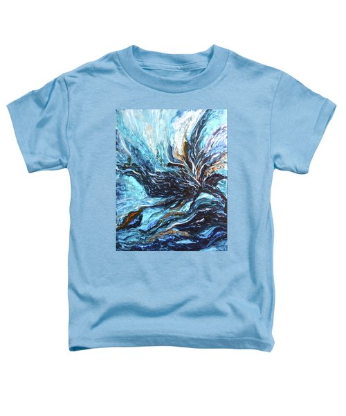 Abstract Water Dragon Toddler T-Shirt