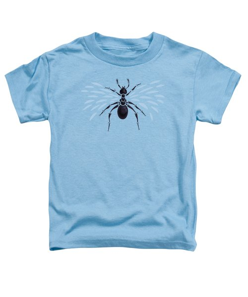 Abstract Winged Ant Toddler T-Shirt