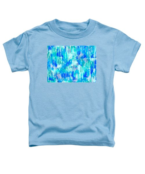 Abstract Winter Toddler T-Shirt