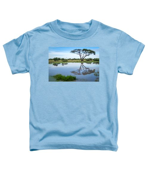 Acacia Tree Reflection Toddler T-Shirt