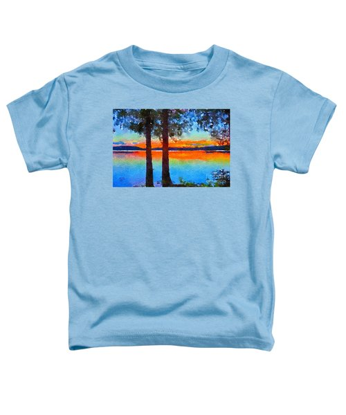 Adirondack Sunset Toddler T-Shirt