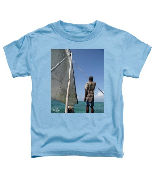 Afternoon Sailing In Africa Toddler T-Shirt by Exploramum Exploramum