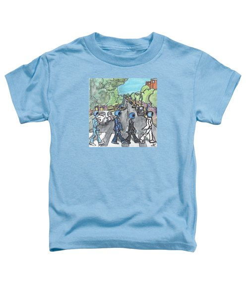 Alien Road Toddler T-Shirt