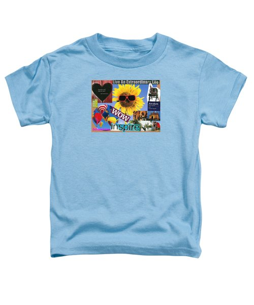 All Of Life Can Inspire Toddler T-Shirt