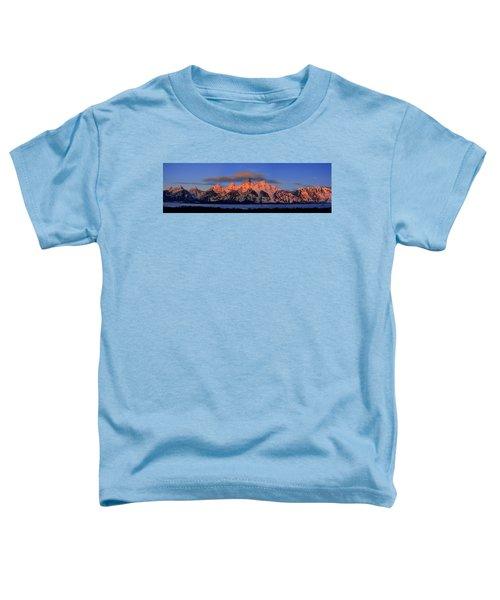 Alpenglow Tetons 2 Toddler T-Shirt