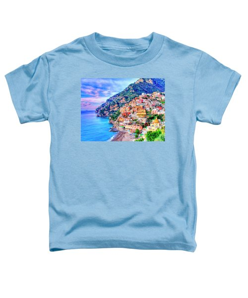 Amalfi Coast At Positano Toddler T-Shirt
