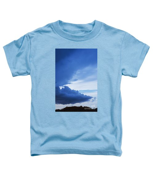 Amazing Blue Sky Vertical Toddler T-Shirt