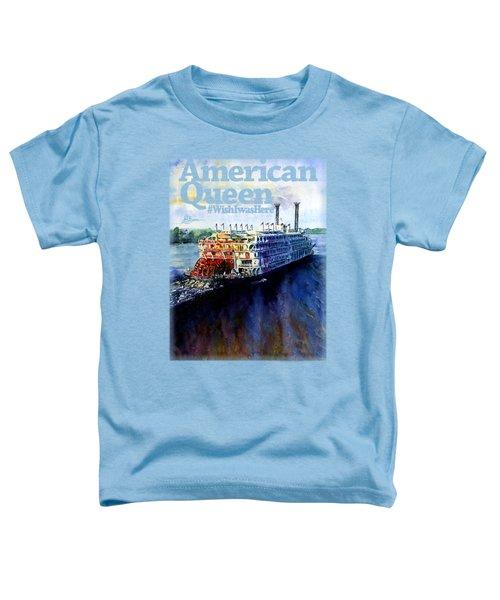 American Queen Shirt Toddler T-Shirt