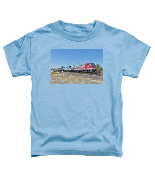 Amtrak 42  Veteran's Special Toddler T-Shirt