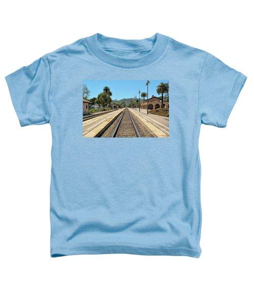Amtrak Station, Santa Barbara, California Toddler T-Shirt