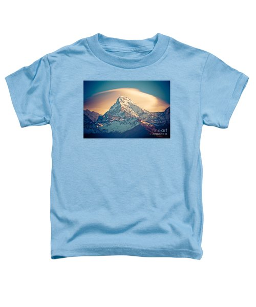 Annapurna Sunrise Himalayas Mountains Toddler T-Shirt