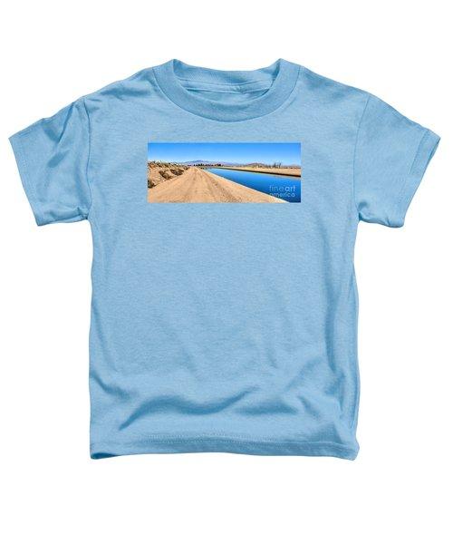 Aqueduct And The Tehachapi Mountains Toddler T-Shirt