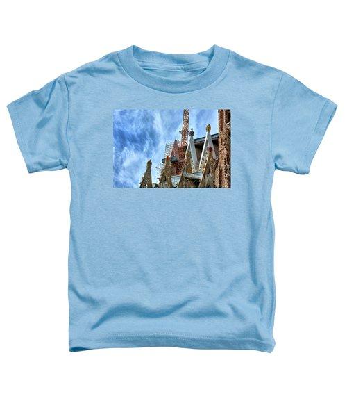Architectural Details Of The Sagrada Familia Toddler T-Shirt