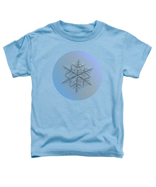 Snowflake Photo - Majestic Crystal Toddler T-Shirt