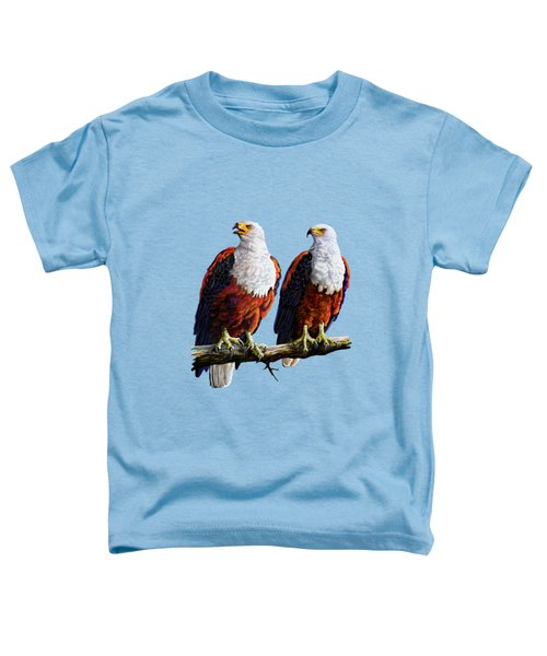 Friends Hanging Out Toddler T-Shirt by Anthony Mwangi