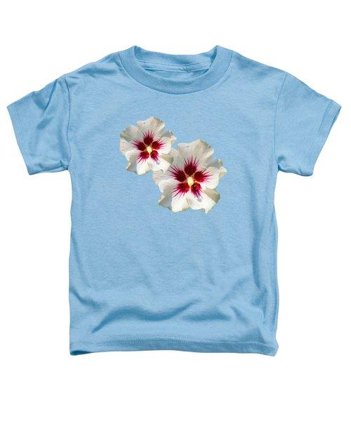 Hibiscus Flower Pattern Toddler T-Shirt