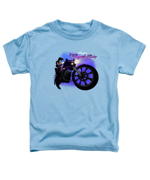 I Grew Up With Purplerain 2 Toddler T-Shirt
