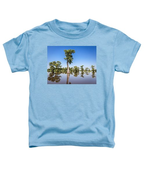 Atchafalaya Cypress Tree Toddler T-Shirt