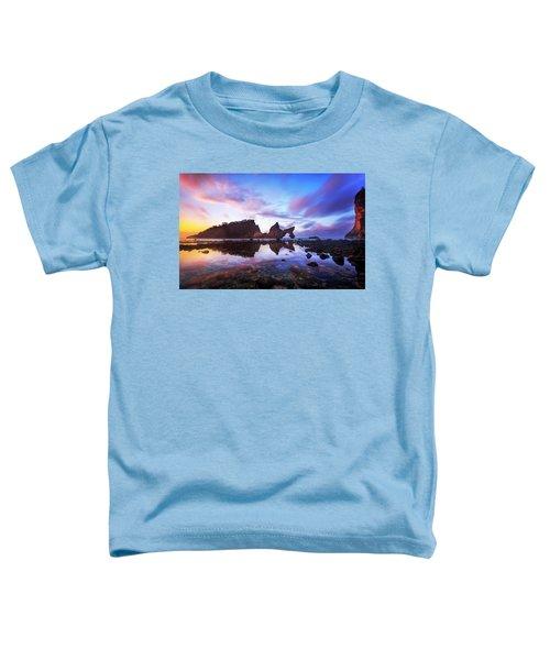Atuh Beach Dawn Break Scene Toddler T-Shirt