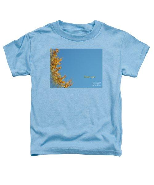 Autumn Ginkgo Tree Toddler T-Shirt