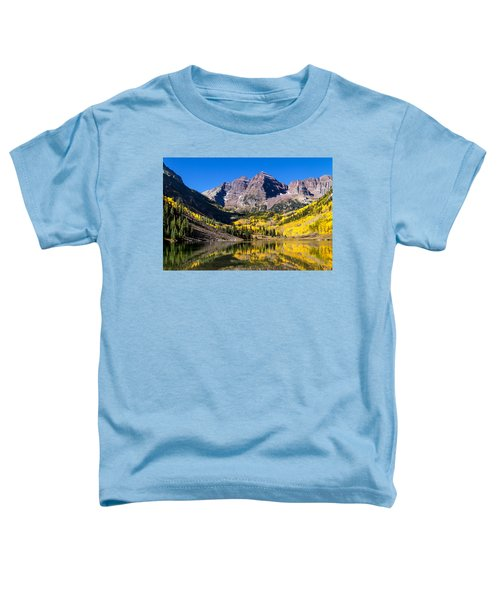 Autumn Morning At The Maroon Bells Toddler T-Shirt